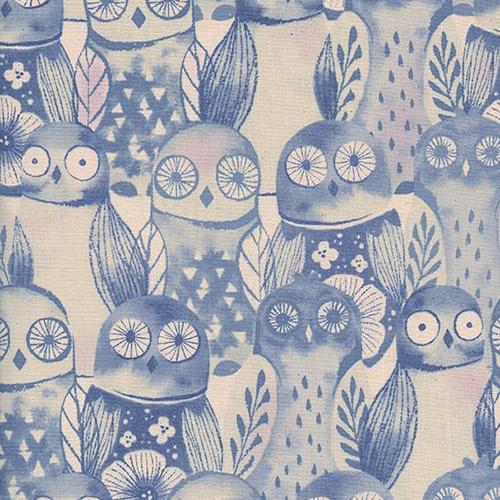 Firelight Wise Owls in Lilac