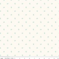 Bee Backgrounds Daisy in Teal from Bee Basics, Backgrounds & Backings by Lori Holt for Riley Blake