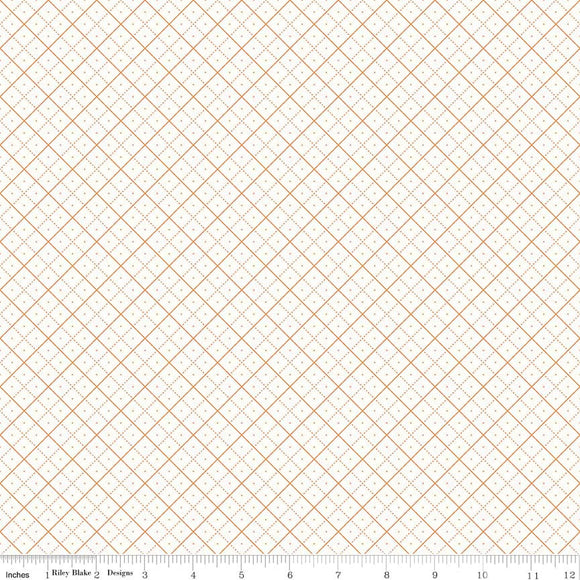 Bee Backgrounds Grid in Orange