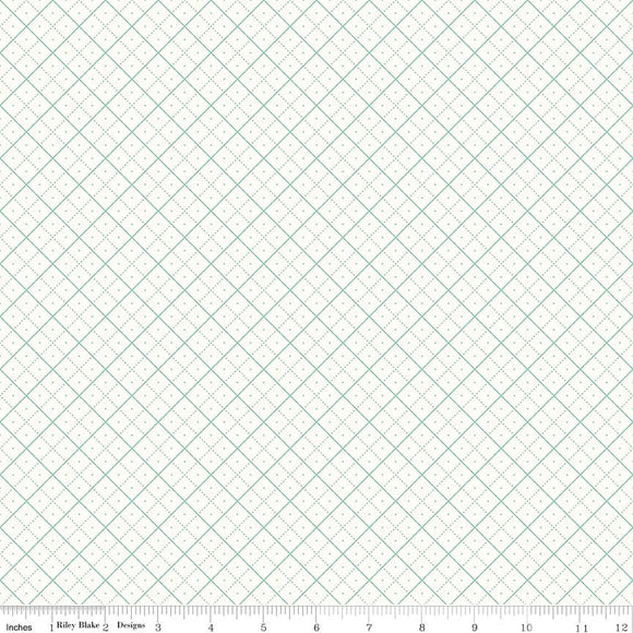 Bee Backgrounds Grid in Teal