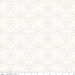 Bee Backgrounds Cool in Gray from Bee Basics, Backgrounds & Backings by Lori Holt for Riley Blake