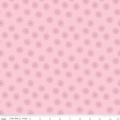 Bee Basics Blossom in Pink from Bee Basics, Backgrounds & Backings by Lori Holt for Riley Blake