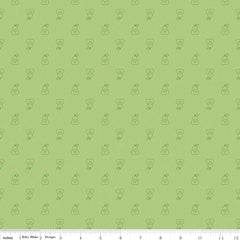Bee Basics Pear in Green from Bee Basics, Backgrounds & Backings by Lori Holt for Riley Blake