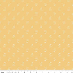 Bee Basics Pear in Honey from Bee Basics, Backgrounds & Backings by Lori Holt for Riley Blake