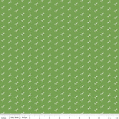 Bee Basics Scissor in Green from Bee Basics, Backgrounds & Backings by Lori Holt for Riley Blake