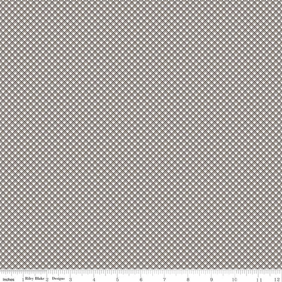 Sweet Prairie Gingham in Gray