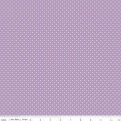 Swiss Dot in Lavender from Swiss Dot by Riley Blake House Designers  for Riley Blake