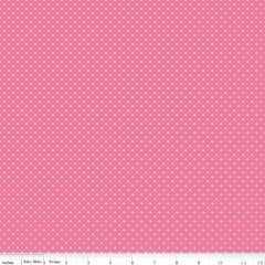 Swiss Dot in Hot Pink from Swiss Dot by Riley Blake House Designers  for Riley Blake