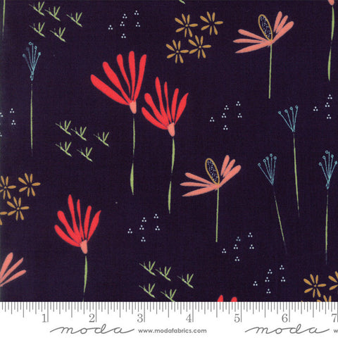 Moda Desert Bloom Wildflower in Midnight