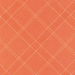 Carkai Grid Diamond Metallic in Creamsicle from Carkai by Carolyn Friedlander for Robert Kaufman