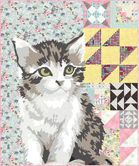 Meow or Never - Quilt Kit from Meow or Never by Erin Michaels for Moda
