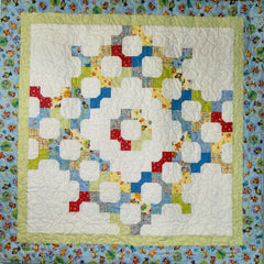 Charming Bow Ties - PDF Quilt Pattern by Cottage Quilt Designs