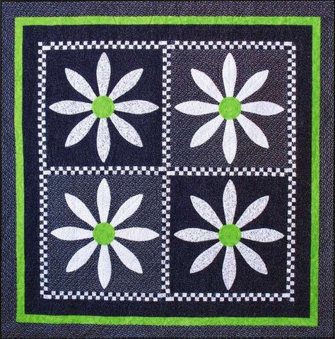 Check Out These Daisies - PDF Quilt Pattern