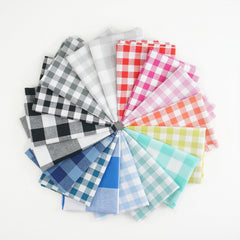 Checkers - Fat Quarter Bundle from Cotton+Steel Checkers by Cotton+Steel House Designers  for Cotton+Steel