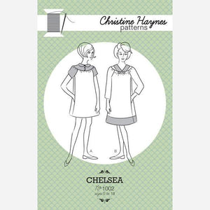 Chelsea Dress - Printed Apparel Pattern
