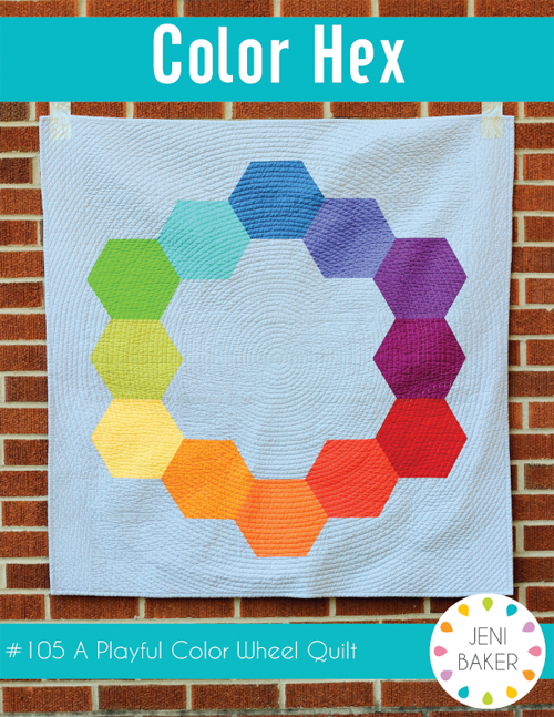 Hex Color - PDF Quilt Pattern