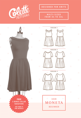 Moneta - Paper Apparel Pattern