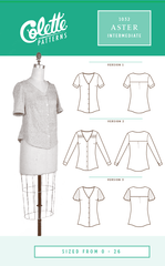 Aster - Paper Apparel Pattern by Colette Patterns