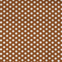 Kiss Dot in Cinnamon from Kiss Dots by Michael Miller House Designers  for Michael Miller