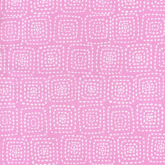 Stitch Square in Orchid from Stitch by Stitch by Michael Miller House Designers  for Michael Miller