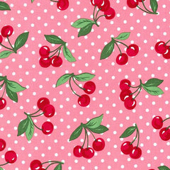 Cherry Dot in Bloom from Cherries by Michael Miller House Designers  for Michael Miller