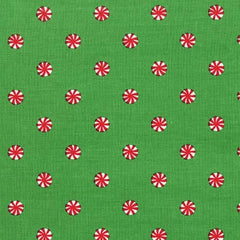 Mini Mints in Evergreen Fabric from Novelty by Michael Miller House Designers  for Michael Miller