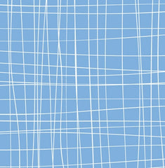 Scratchy Plaid in Blue from Zoe and Zack by Bethany Shackelford for Quilting Treasures