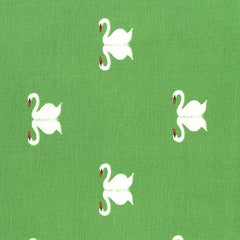 Sommer Swan in Grass from Sommer by Sarah Jane for Michael Miller