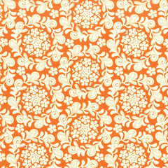 Strawberry Moon Petite Henna Garden in Orange from Strawberry Moon by Sandi Henderson for Michael Miller