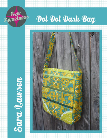 Dot Dot Dash Bag - PDF Accessory Pattern