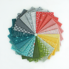 One Room Schoolhouse – Fat Quarter Bundle from One Room Schoolhouse by Just A Bit Frayed for RJR