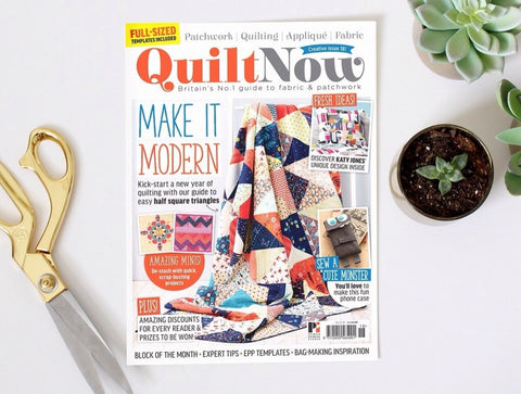 Quilt Now Magazine - Issue 18 - December 2015