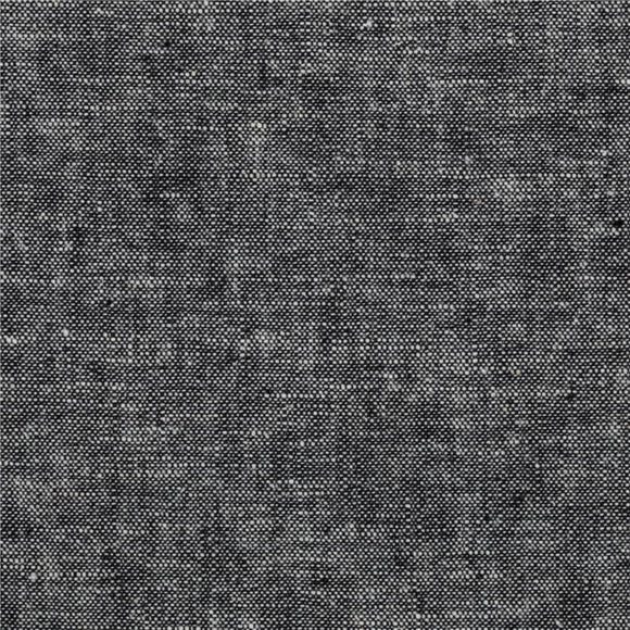 Essex Yarn Dyed Linen in Black