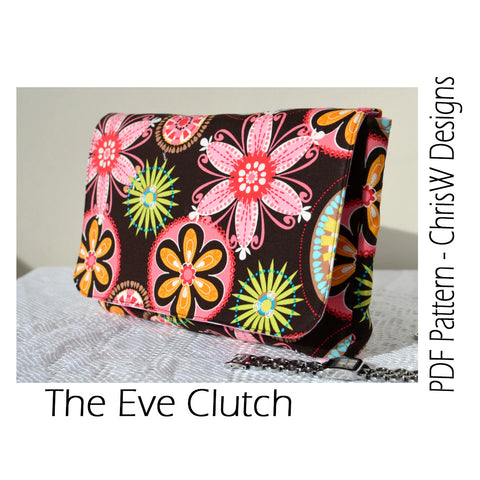 Eve Clutch - PDF Accessory Pattern