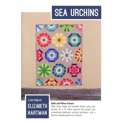 Sea Urchins – Paper Quilt Pattern