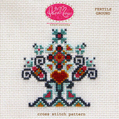 Fertile Ground - Printed Pattern by Anna Maria Needleworks