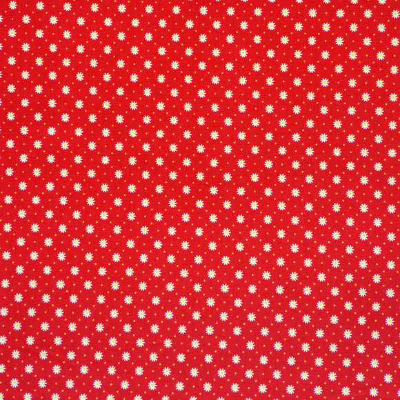 Gingham Girls Flower in Red