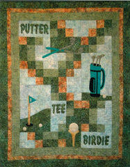 Gone Golfing - PDF Quilt Pattern by Cottage Quilt Designs