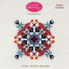 Grand Central - Printed Pattern by Anna Maria Needleworks