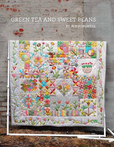 Green Tea And Sweet Beans - Pattern Book