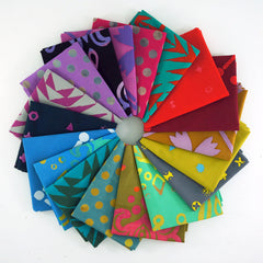 Handcrafted Patchwork – Fat Quarter Bundle from Handcrafted Patchwork by Alison Glass for Andover