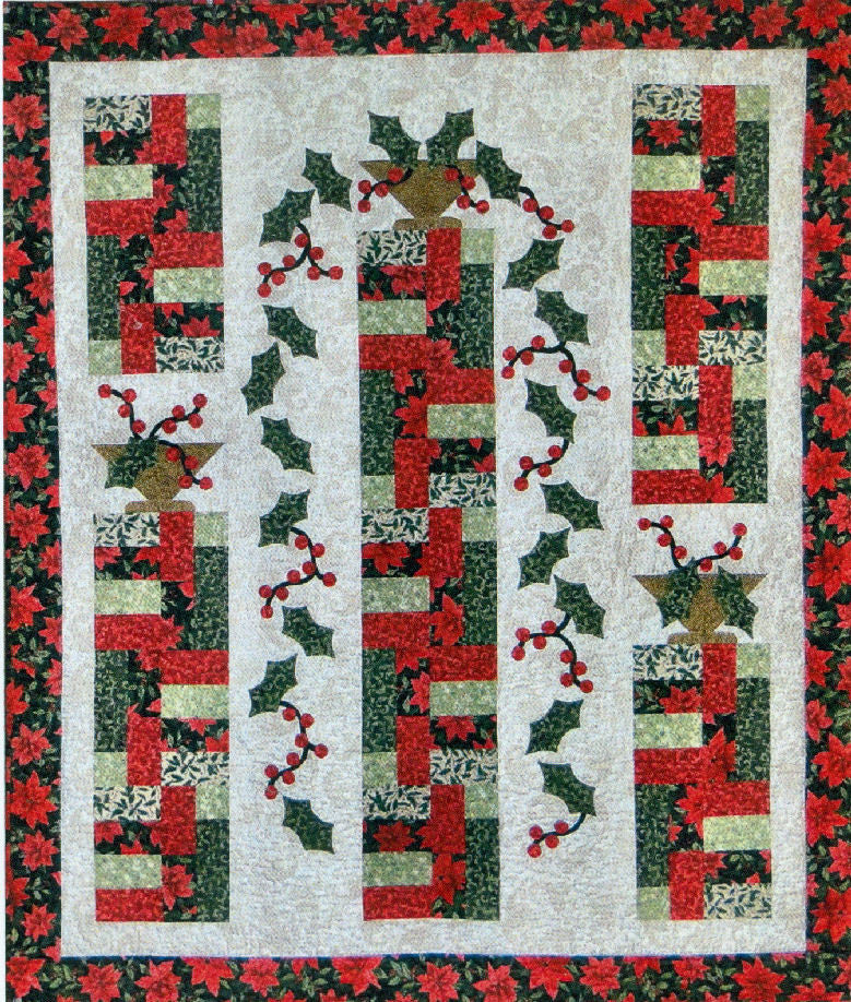 Holly Cascade - PDF Quilt Pattern by Cottage Quilt Designs ... : cottage quilt designs - Adamdwight.com