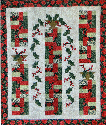Holly Cascade - PDF Quilt Pattern