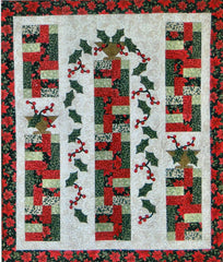 Holly Cascade - PDF Quilt Pattern by Cottage Quilt Designs