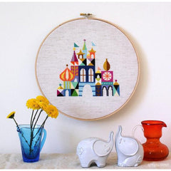 Pretty Little City - Aida Cross Stitch Kit by Jody Rice for Satsuma Street