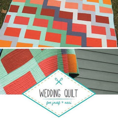 A Wedding Quilt For Joseph and Annie - PDF Quilt Pattern from Liesl and Co by Stitch In Dye for World Book Media