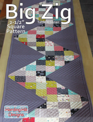 Big Zig - PDF Quilt Pattern