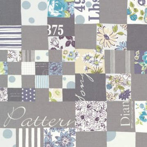 Floral Cheater in Grey