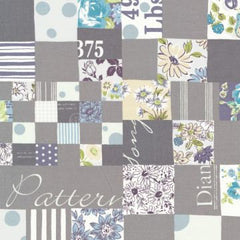 Floral Cheater in Grey from Live Life by Yuwa House Designers  for Yuwa