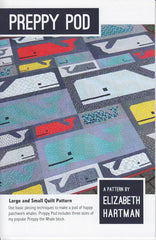 Preppy Pod - Paper Quilt Pattern from Paintbox Basics by Elizabeth Hartman for Robert Kaufman